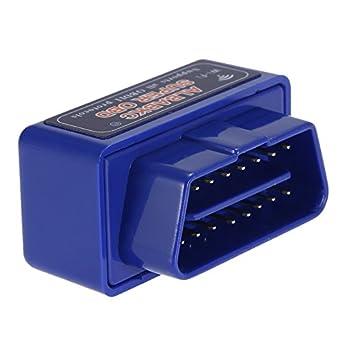 KKmoon WiFi OBD OBDII Auto Diagnóstico Herramienta Escáner Lector de Código Compatible con Smartphone Android iOS, Azul: Amazon.es: Coche y moto