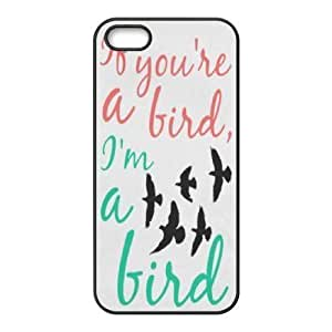 Cool Painting Bird Use Your Own Image Phone Case for Iphone 5,5S,customized case cover case566855