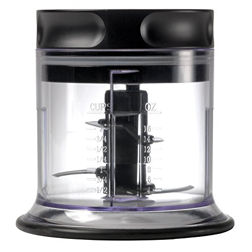 The Ninja Master Prep Professional handles all of your chopping, food processing, and blending needs in 3 conveniently sized jars great for personal servings or for entertaining.