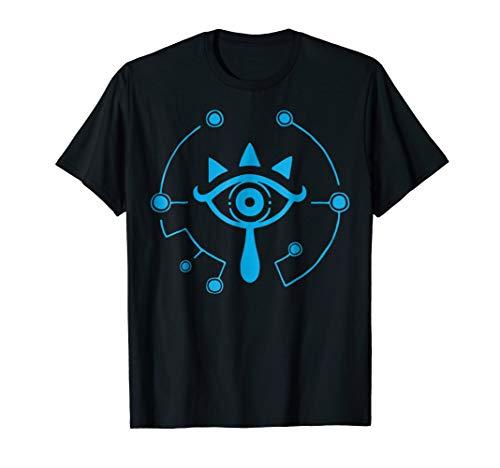 Zelda Breath Of The Wild Sheikah Eye Logo Graphic T-Shirt