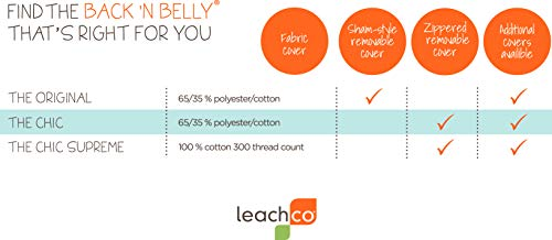 Leachco Back N Belly Pregnanc Body Pillows