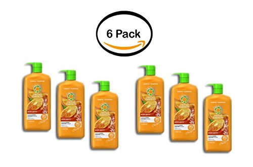 PACK OF 6 - Herbal Essences Body Envy Volumizing Hair Shampoo with Pump 33.8 Fl - Body Essences Envy Herbal