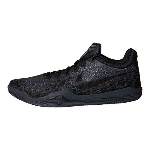 Nike Heren Kobe Mamba Woede Basketbalschoenen Zwart / Donker Grijs-m