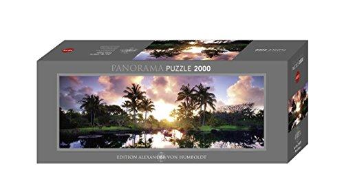 Heye Palm Trees 2000 Piece Panoramic Jigsaw Puzzle