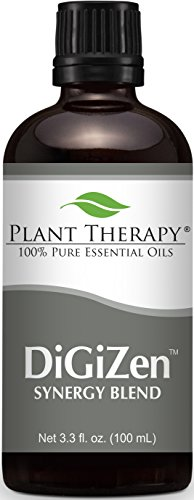 (Plant Therapy DiGiZen Synergy Essential Oil 100 mL (3.3 oz) 100% Pure, Undiluted, Therapeutic Grade)