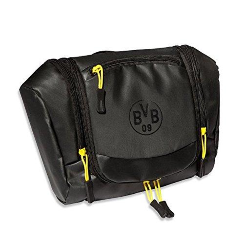 Borussia Dortmund Kulturbeutel / Waschtasche / Kulturtasche BVB 09 - plus gratis Aufkleber forever Dortmund