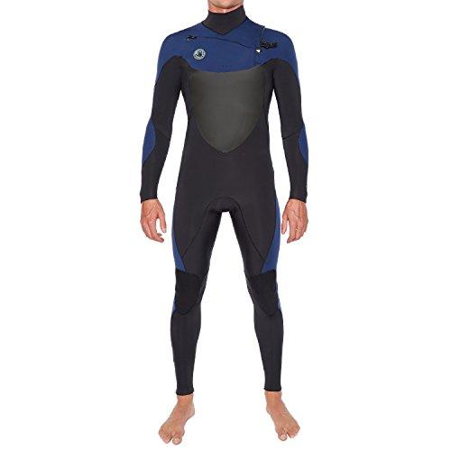 Body Glove Siroko 4/3mm Slant Zip Fullsuit (Blue) Wetsuit-Large Tall
