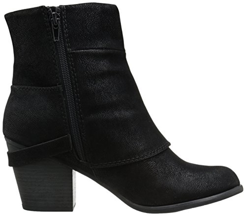Black Boots Liza Fashion Ankle Womens Toe Almond Fergalicious Sq1a81
