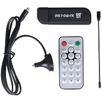 Mesinton JahyShow DVB-T DAB FM, RTL2832U and R820T Tuner, Mini USB RTL-SDR and ADS-B Receiver Set, Radio Compatible, MCX Input, 25-1700 MHz, Support Windows XP/2000/Vista/Win7/Win8