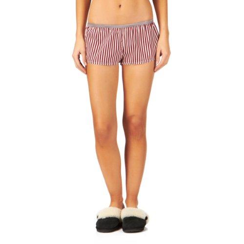 Scotch & Soda / Maison Scotch Women Pajama Boxer Underwear Shorts (1, Pink Stripes) (Soda Boxers compare prices)