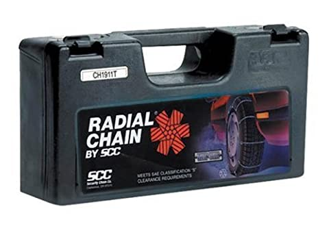Security Chain Company SC1030 Radial Chain Cable Traction Tire Chain - Set of 2 - 1991 Chrysler New Yorker