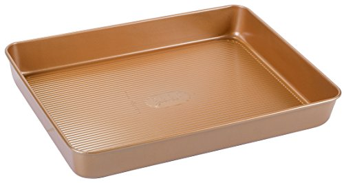 Elle Gourmet Jelly Roll Pan with Copper Finish - 11.5
