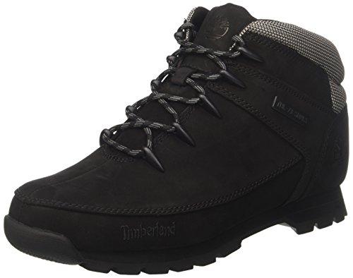 Timberland Herren Euro Sprint Hiker Chukka Boots Schwarz (Black 001)