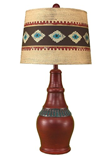 Coast Lamp Rio/Jade Casual Table Lamp With Ribbed Accent ...