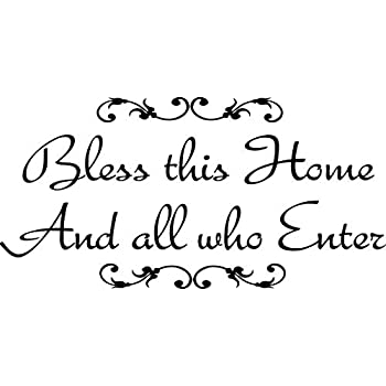Sworna English Proverb Series Bless This Home And All Who Enter