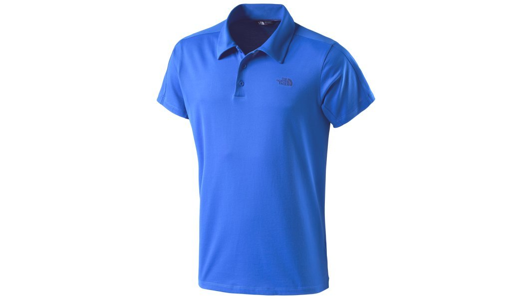 The North Face M Tech Polo (Intersport), Color - f89 Bomber Blue ...