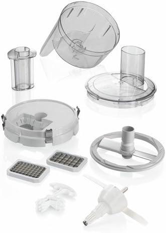 Bosch MUZ8CC2 - Picador para robots de cocina, color plateado: Amazon.es: Hogar
