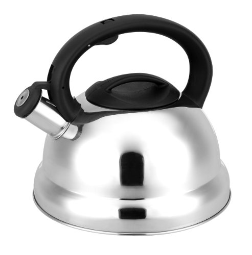 Cuisinox Whistling Tea Kettle, 3-Liter