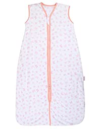 Snoozebag Sleeping Bag 2.5 Tog Butterflies and Hearts (18-36 Months)