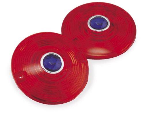 06-17 HARLEY FLHX2: Biker's Choice Blue Dot Lenses