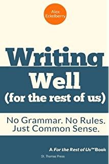 Amazon mcdougal littell literature grammar for writing writing well for the rest of us no grammar no rules fandeluxe Choice Image