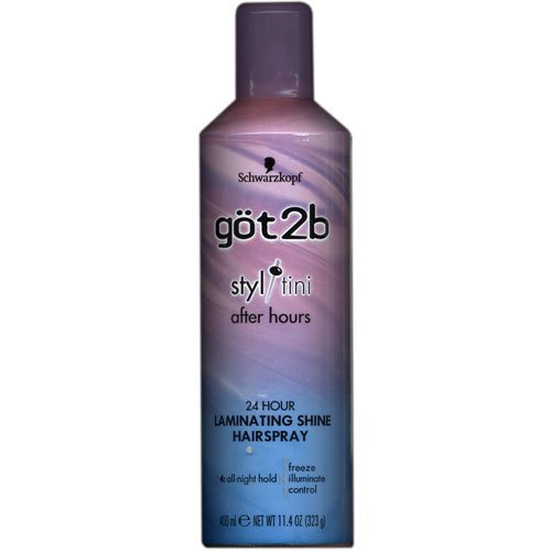 Got 2b Styltini After Hours 24 Hour Laminating Shine Hairspray 11.4 fl oz (400 ml) by GOT 2B