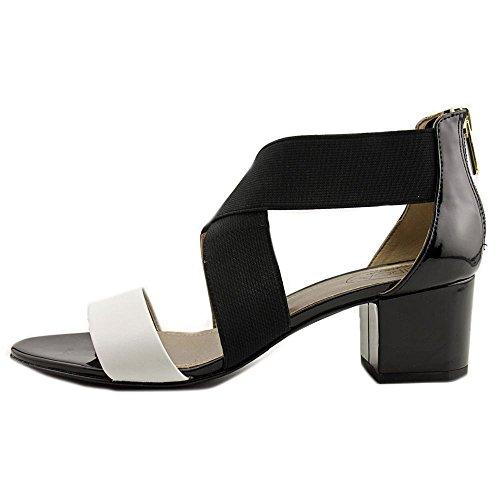 Circa Joan & David Valley Strap Sandals, Black, 9.5M