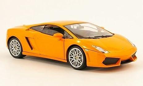 Lamborghini Gallardo LP 560 4, Metallic Orange , Model Car, Ready Made