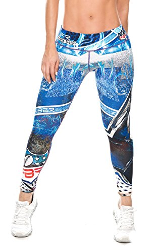 [Dallas Cowboys Football Leggings NFL Yoga Pants Women's Compression Tights] (Mens Dallas Cowboy Football Costumes)