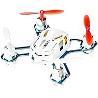Welcomeuni Hubsan NANO Q4 H111 4-CH 2.4GHz Remote Control Mini Quadcopter Remote Control Vehicle White