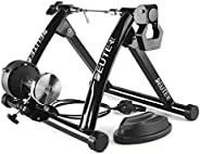 Bike Trainer, Magnetic Bicycle Stationary Stand for Indoor Exercise Riding, Portable, Quick Release Skewer &am