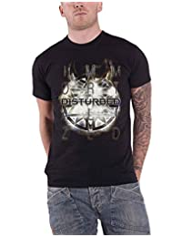 Disturbed T Shirt Immortalized Band Logo Symbol New Official Mens Black