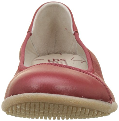 Tbs Ladies Heiddie Closed Ballerinas Rouge (pompei)