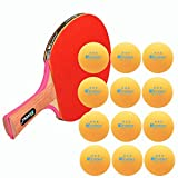 KEVENZ 60-Pack 3-Star 40+ Orange Table Tennis
