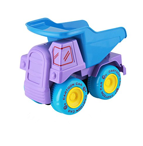 Drop And Go Dump Truck Toy For Kids