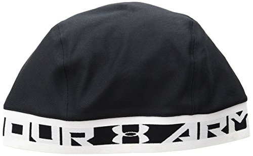 (Under Armour Men's CoolSwitch Skull Cap,Black (001)/Glacier Gray, One Size)