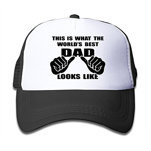 YQUE Girls Travel Caps Mesh This Is What The World's Best Dad Looks Like - Swift Taylor Nerd
