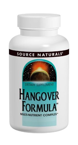 Source Naturals Hangover Formula, Potent Nutritional Combination of Antioxidants and Herbs, 120 - Antioxidant Herb Formula