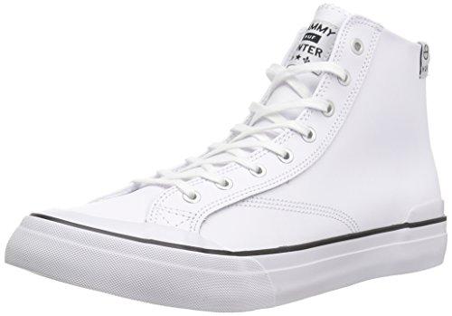 HUF Men's Classic HI Skateboarding Shoe, White Sw Cliché, 9.5 M US