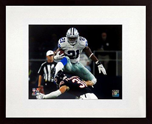 "Dallas Cowboys Ezekiel Elliot ""Run Zeke Run"" 8x10 Photograph (SGA UnderFifty Series) - Unsigned Photographs 8x10 Framed"