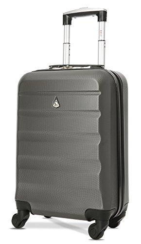 Aerolite Super Lightweight ABS Hard Shell Travel Carry On Cabin Hand...