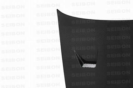Amazon com: Seibon Carbon Fiber JU-Style Hood Nissan Skyline R32 90
