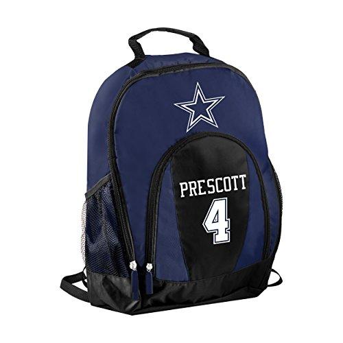 FOCO NFL Dallas Cowboys Dak Prescott #4 Primetime Backpack by FOCO
