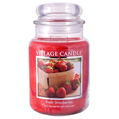 Village Candle 26 oz Glass Jar Scented Candle
