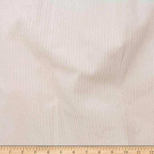 (Telio 8W Stretch Corduroy Cotton Fabric, Ecru, Fabric By The Yard)
