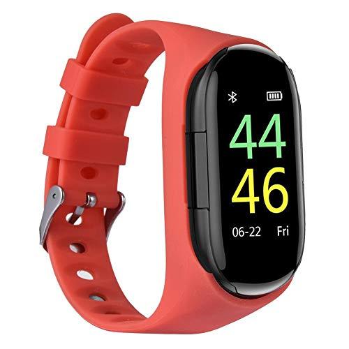 winnerruby Waterproof Smart Watch Bracelet & Wireless In-ear Bluetooth 5.0 Earphone | 2-in-1 Sports Smartwatch Headphone…