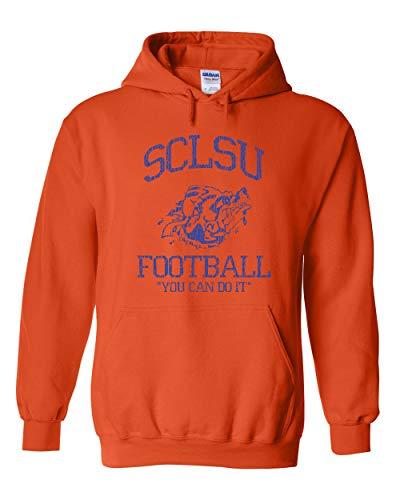 - Swaffy Tees 274 Mud Dogs SCLSU Funny Hooded Sweatshirt Orange