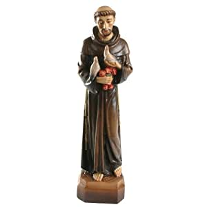 Wood Carved Statue - St. Francis of Assisi