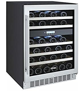 Amazon kelvinator kcbb72gb 72 triple glass door back bar 46 bottle dual zone built in wine refrigerator planetlyrics Image collections