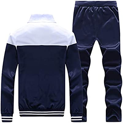 LaoZanA Hombre Chándal 2 Piezas Conjuntos Deportivos Pantalones + ...